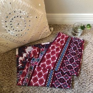 Anthropologie Fig and Flower Boho Lounge Pants L